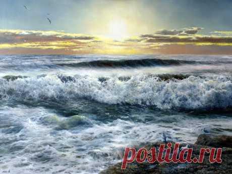 El pintor Sergey Dorofeev. La respiración del mar \u000a\u000aLa brisa de tarde\u000a\u000aEl viento libre\u000a\u000aEl mar y las piedras\u000a\u000aLa respiración del mar\u000a\u000aLas ondas encantado\u000a\u000aLa onda que choca\u000a\u000aSobre el mar, el mar...\u000a\u000aEl oleaje\u000a\u000aLa onda del mar Negro\u000a\u000aEl oleaje del mar Negro\u000a\u000aLos tintes del ocaso\u000a\u000aLa rapsodia de tarde\u000a\u000aVol …
