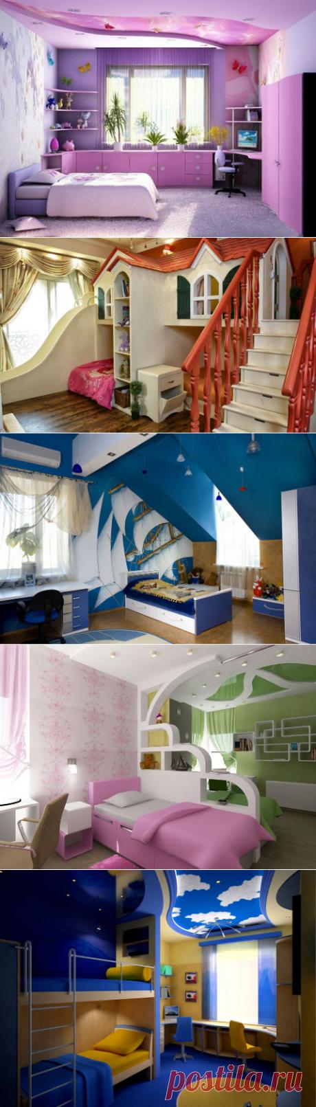 Детские комнаты: яркие и не очень — Роскошь и уют