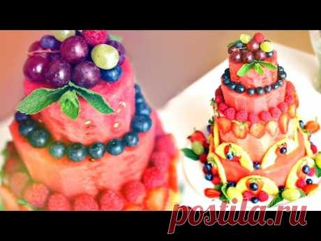 WE COOK CAKE FROM THE WATER-MELON | FOR HOW TO MAKE WATERMELON CAKE | BY SWEET HOME