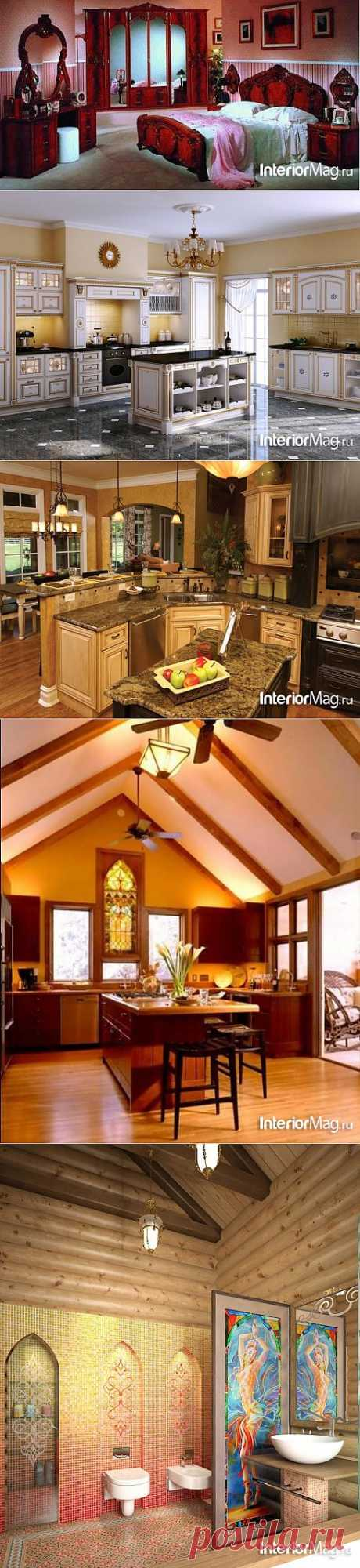 Восточный стиль интерьера   Наш уютный дом