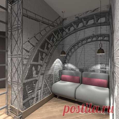 Интерьер в стиле LOFT как культ свободного пространства.