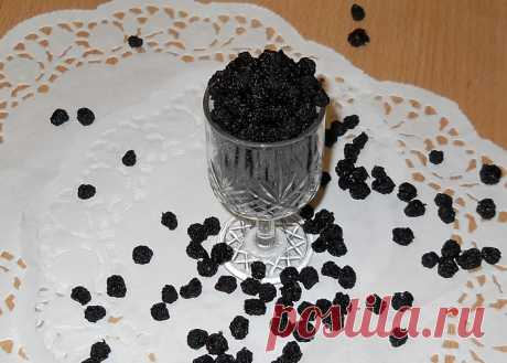 Изюм из черноплодки и ИРГИ