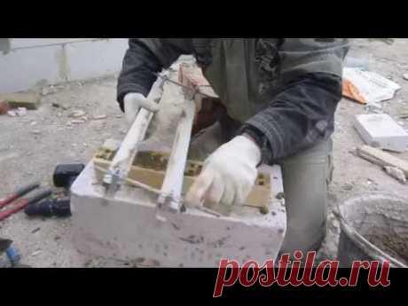 Las adaptaciones fenomenales para la construcción del ladrillo, los gazo-peno-bloques de cemento y escoria, los encofrados fijos.