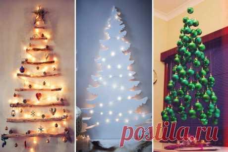 10 самых оригинальных идей новогодней елки » Notagram.ru Самые необычные и оригинальные идеи для новогодней елки. Идеи украшения елки к Новому году и Рождеству. Как необычно украсить елку. Елка своими руками.