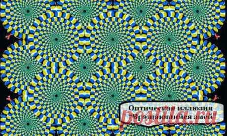 Тест: ИЛЛЮЗИЯ для САМОПОЗНАНИЯ .  Японец Акиоши Китаока является профессором психологии в Университете Ritsumeikan (Киото). Он утверждает, с помощью картинок, так называемых «зрительных иллюзий», можно определить психическое состояние человека, они помогают отразить его внутренний настрой.   Если рисунок абсолютно неподвижен — вам не о чем беспокоиться, психическое здоровье в полном порядке. Профессор считает, что такой результат возможен у человека уравновешенного, спокой...