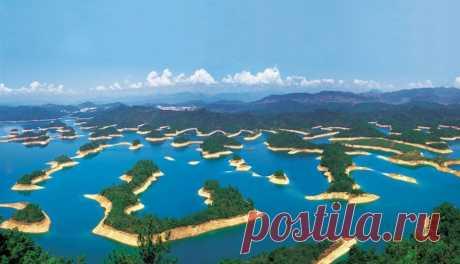Цяньдаоху - Озеро тысячи островов. - Путешествуем вместе