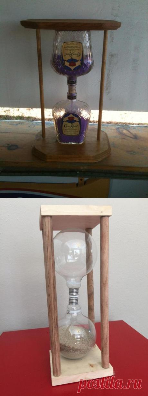 Уникальные и функциональные песочные часы, своими руками изготовленные