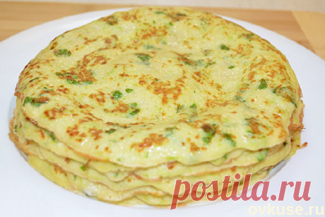 Pancakes from vegetable marrows - Simple recipes of Овкусе.ру