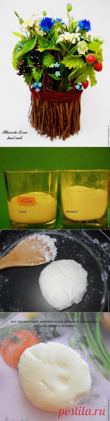 Простой и доступный рецепт холодного фарфора, который получается всегда: