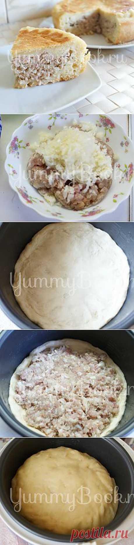 Пирог с мясом в мультиварке - пошаговый рецепт с фото