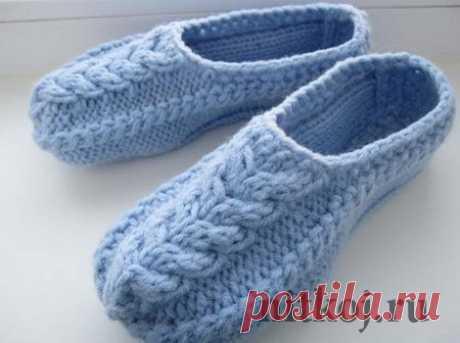 Вязаная обувь, носки » Ниткой - вязаные вещи для вашего дома, вязание крючком, вязание спицами, схемы вязания
