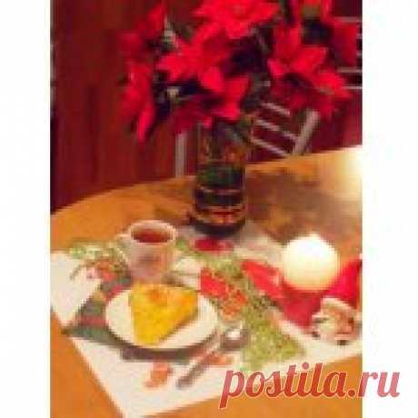 Тыквенный пирог Новогодний Кулинарный рецепт