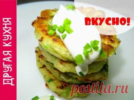 VERY TASTY! Fritters with cheese and green onions