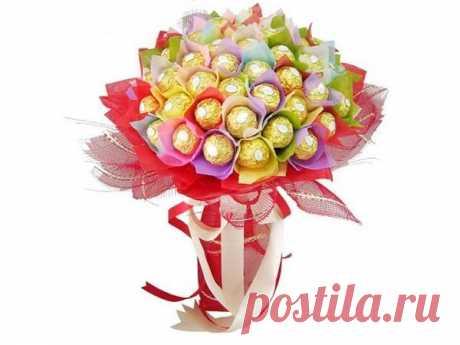 👌 Букеты из конфет своими руками, увлечения и хобби В последнее время стало популярным дарить не обычные букеты цветов, а созданные из конфет. Такая красота может существовать не только как часть подарка, а и как полноценный презент...