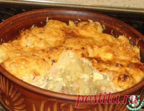 Картофель под сырной корочкой – кулинарный рецепт