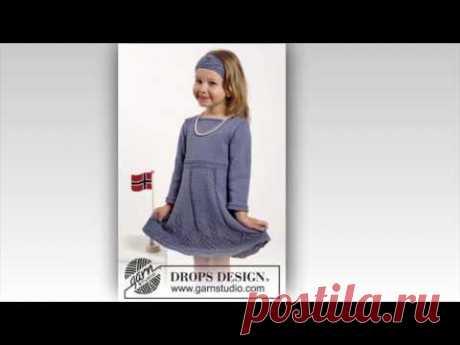 Pletena moda/Вязаное платьишко для маленькой модницы/ knitted dress for a little fashionista