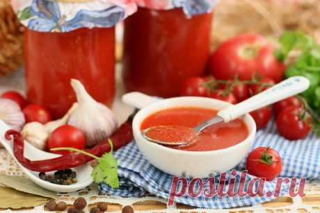 Кетчуп из помидоров на зиму Пальчики оближешь - рецепт с фото