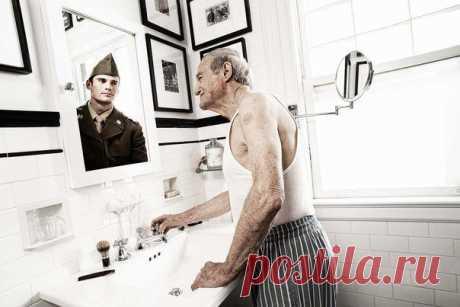 Зеркало помнит — фотопроект Tom Hussey. Трогательно…   Хитрости Жизни