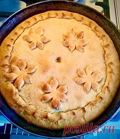 Как приготовить сладкий пуховый пирог (наипростейший рецепт, который я знаю) | Французский топчик от Кристины | Яндекс Дзен