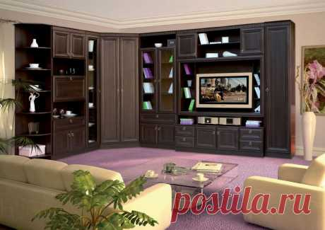 Покупаем мебельные стенки для гостиной