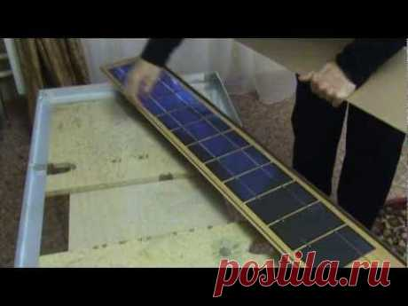 ▶ Постройка Солнечной Батареи - YouTube