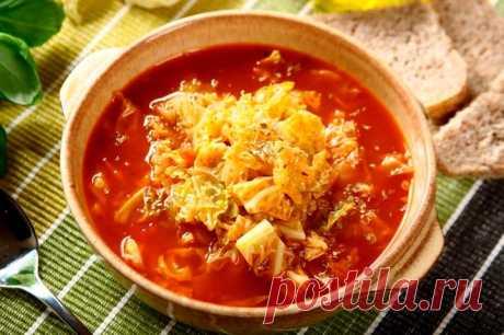 Щи без мяса из савойской капусты – пошаговый рецепт с фото.