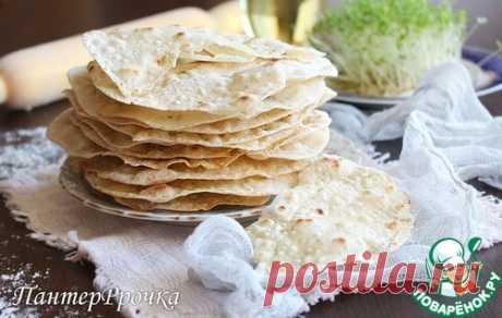 Хрустящие лепешки-крекеры - кулинарный рецепт