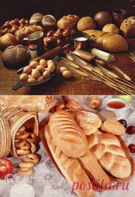 7 главных русских хлебов.