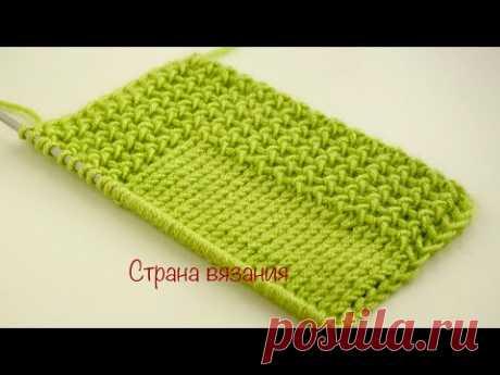Узоры спицами. Узор для планки. Knitting patterns. Pattern for the plank.