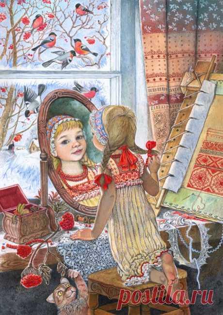 Illustrator Irina Egorova