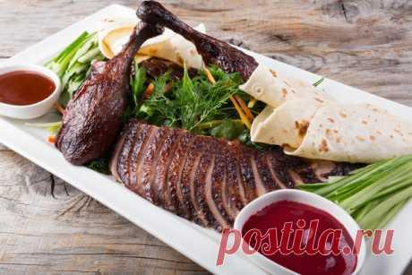 Утка по-пекински: как приготовить знаменитое блюдо в домашних условиях