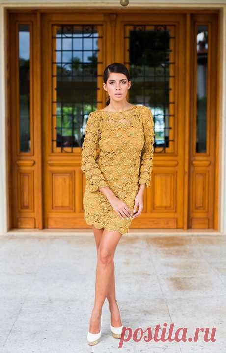 Подборка красивых платьев Janaina Mendonca, без схем, вдохновляемся) - Рукоделие - Babyblog.ru