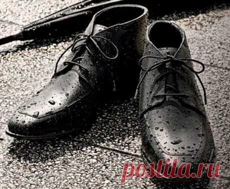Прочная и непромокаемая обувь за 2 минуты. Как я счастлива, что знаю этот трюк!