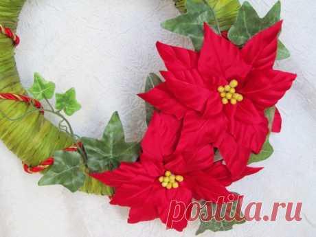 Поделки из фоамирана на Новый год: украшения своими руками, новогодний ободок и снеговик, рождественский цветок