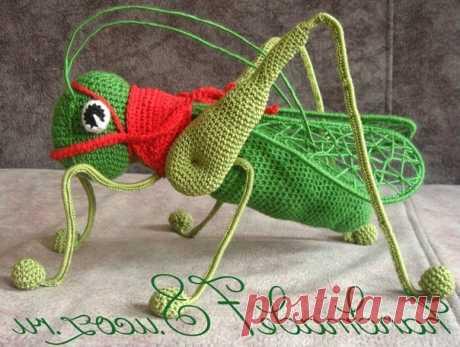Амигуруми насекомые крючком : каталог схем для вязания