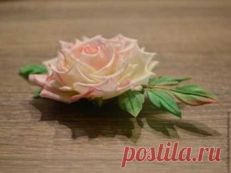 Роскошные розы из шелка — Делаем руками