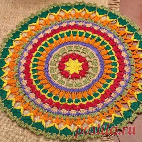 Mandala a hook — HandMade