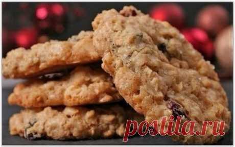 Овсяное печенье для тонкой талии.