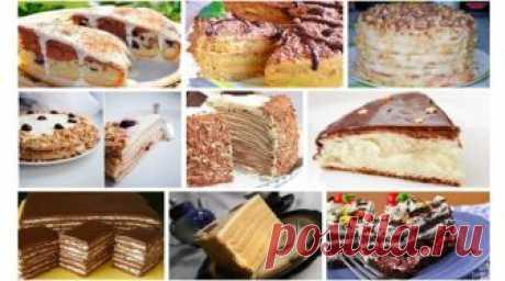 10 обалденно вкусных тортов Очень хорошая подборка. Просто рай для сладкоежек! Забирайте, чтобы не потерять!
