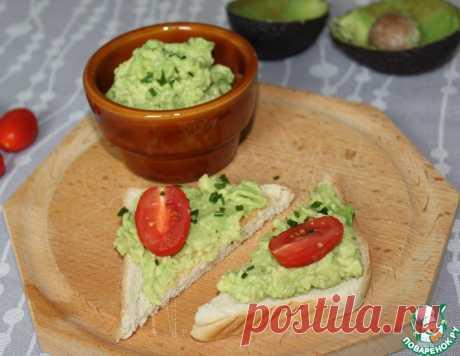 Намазка из авокадо – кулинарный рецепт