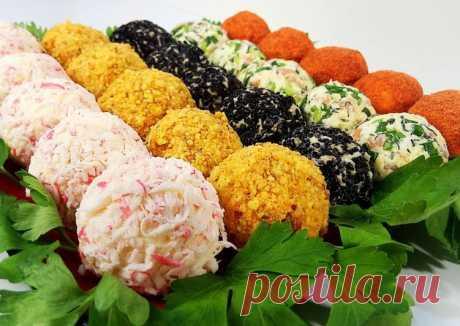 10 вариантов закусок-шариков на праздничный стол Вкусно, быстро и оригинально!