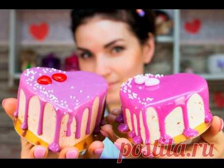 ¡mini la torta el pastel por el día del santo Valentín \/ Mini Cake cupcake Valentine's Day - Mí - TORTodel!