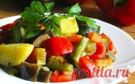 Овощное рагу с капустой и кабачками | Вкусно готовим дома