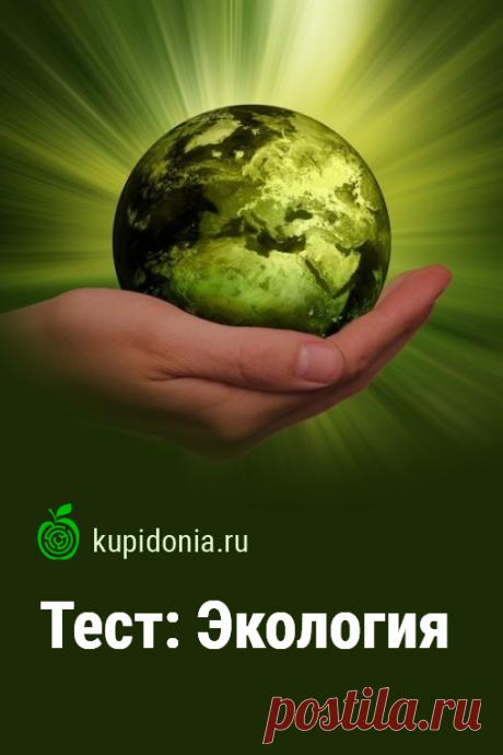 Тест: Экология. Интересный тест о природе и том, как важно её беречь и защищать от неразумной деятельности человека. Проверьте свои знания!