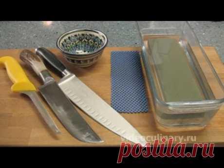 Рецепт - Заточка ножей от https://videoculinary.ru