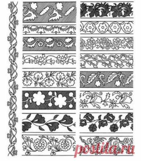 Орнаменты и узоры: трафареты, распечатать, бурятский, татарский, русский, шаблоны, геометрические, якутские, восточные, для детей, фото, видео