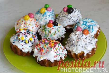 Пасхальные кексы - рецепт с фото пошагово