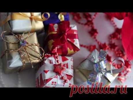 Декоративные мини подарочки своими руками / DIY Miniature Christmas decorations - YouTube