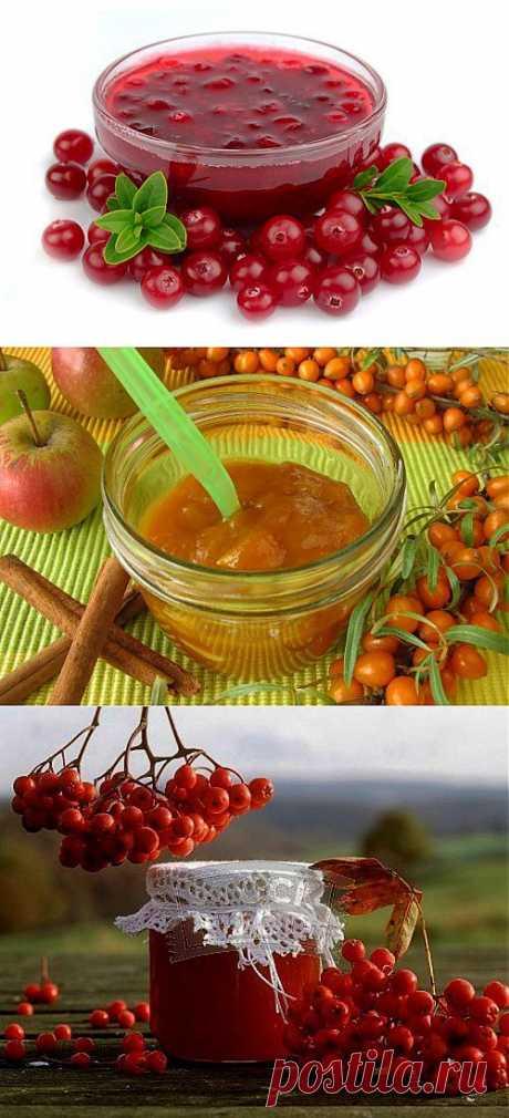 Полезные десерты на зиму: фруктово-ягодное варенье / Простые рецепты