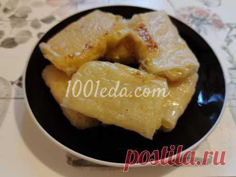 Яблочный десерт в рисовой бумаге - Быстрые десерты от 1001 ЕДА